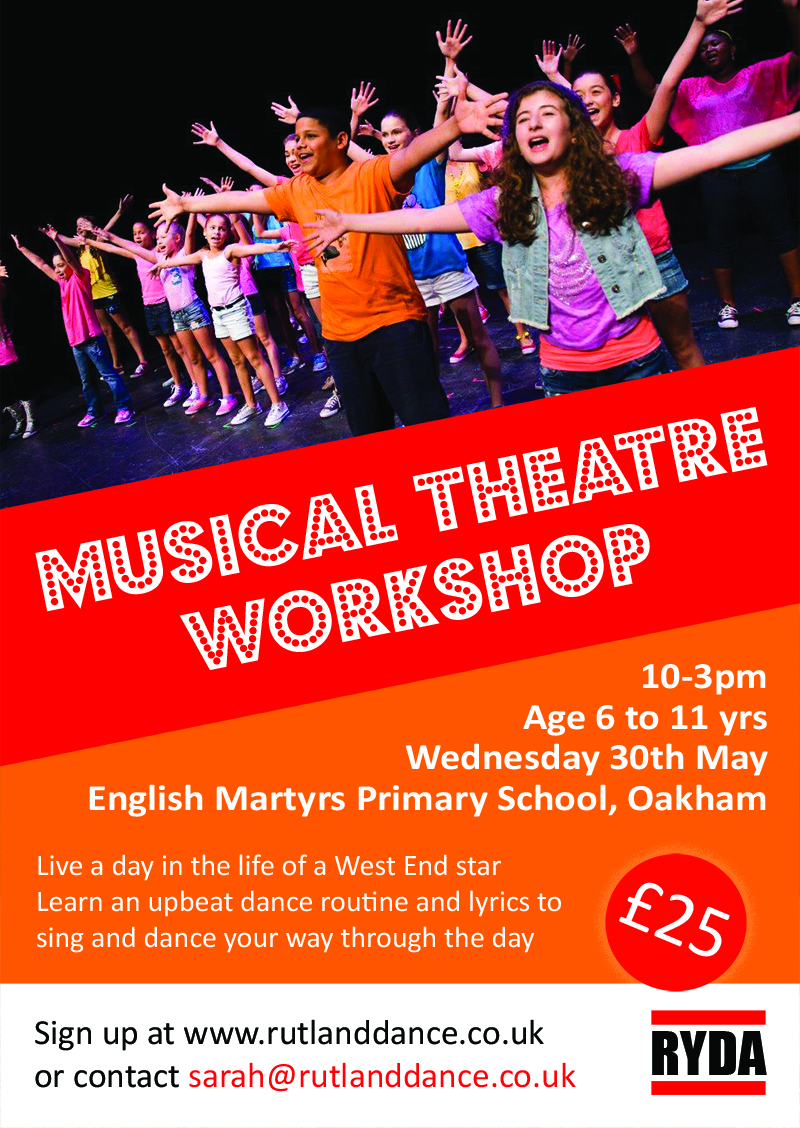 Musical Theatre Workshop – May