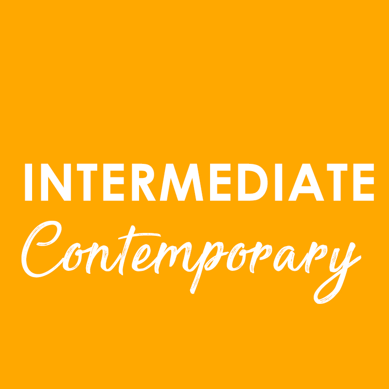 Intermediate Contemporary – Wednesday 8th July