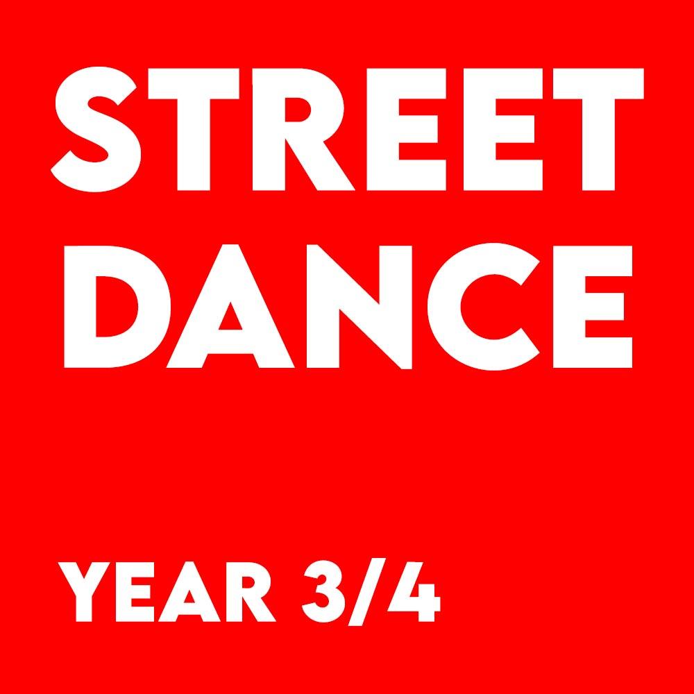 Street Dance – Year 3/4