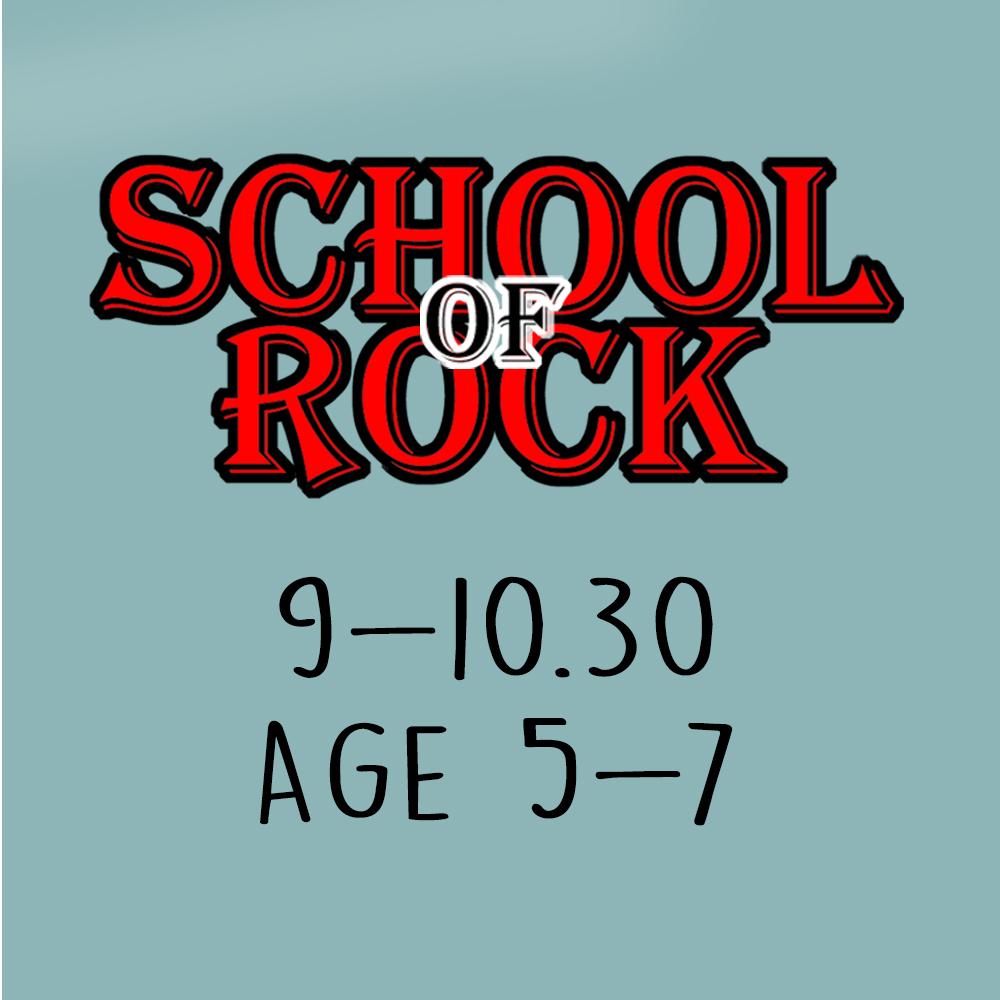 School Of Rock – Age 5-7
