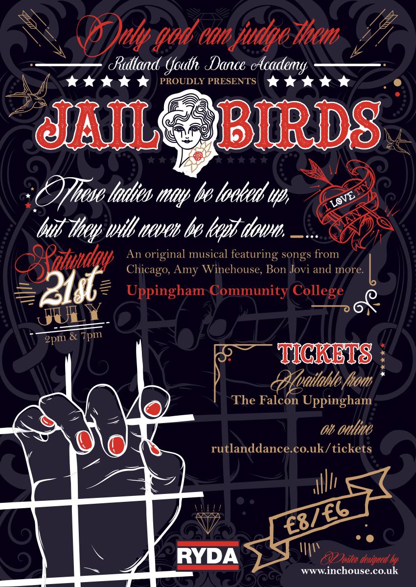 Jail Birds poster A3
