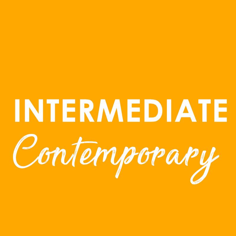 Intermediate Contemporary – Wednesday 1st July