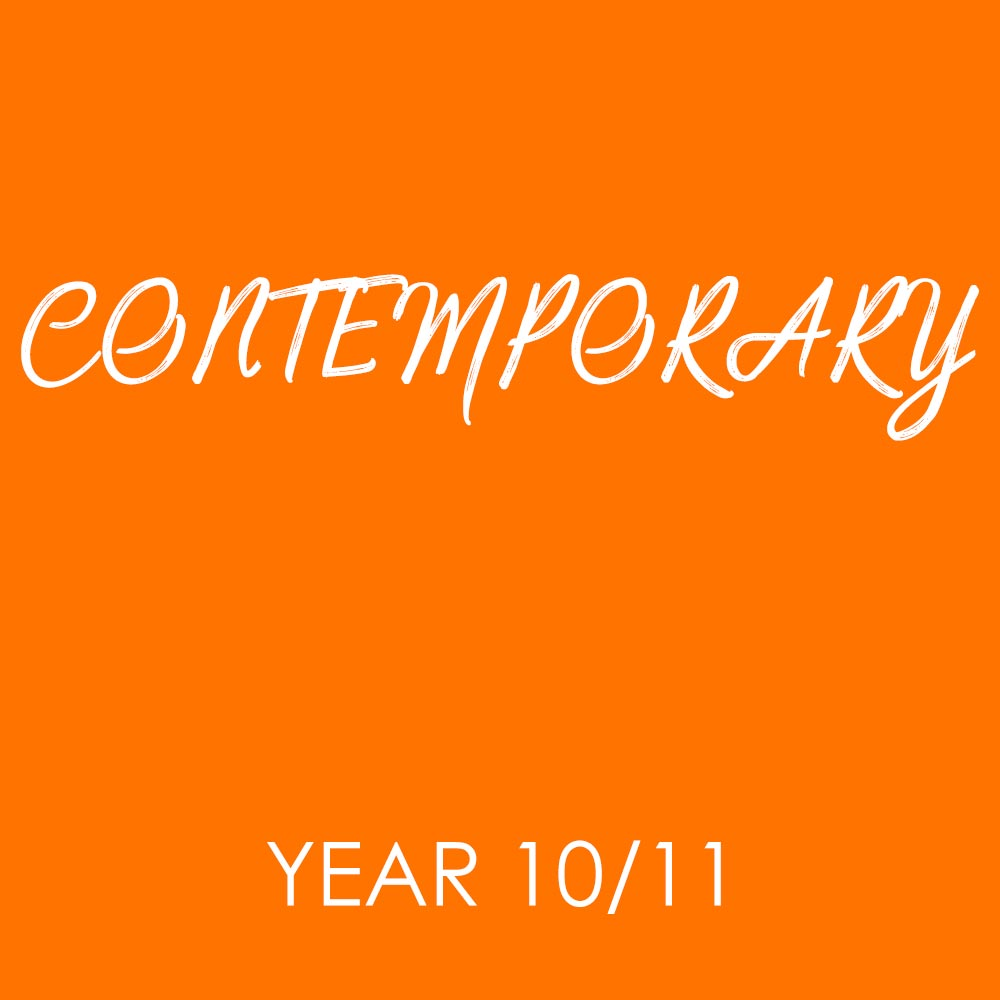 Contemporary – Year 10-11