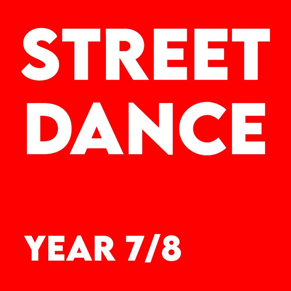 Street Dance – Year 7-8