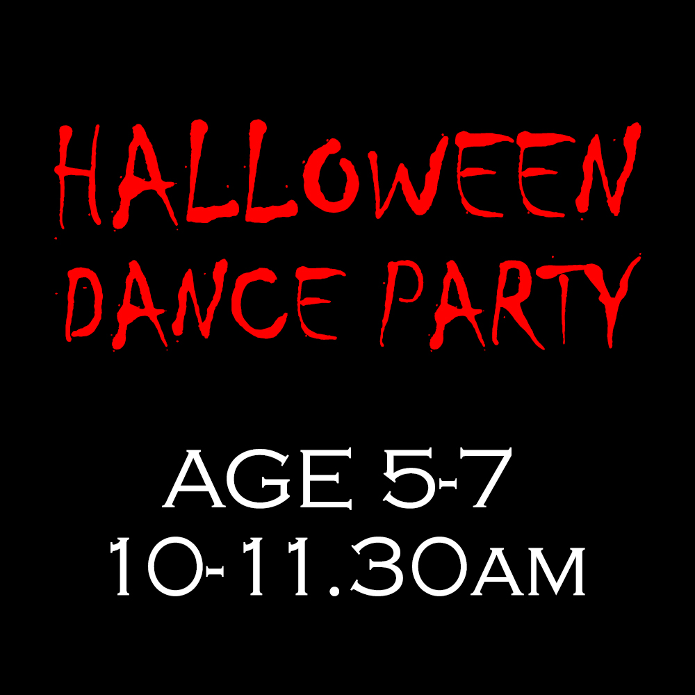 Halloween Dance Party – Age 5-7