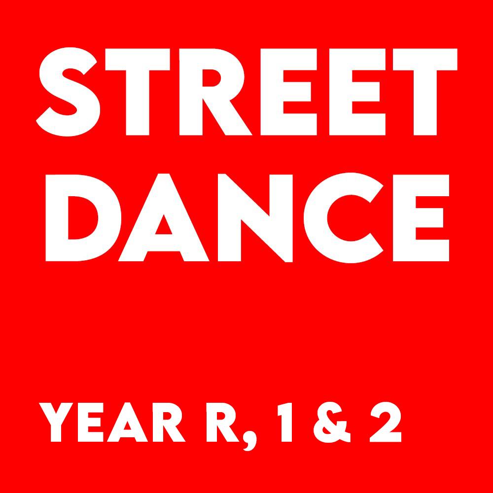Street Dance – Year R, 1 & 2